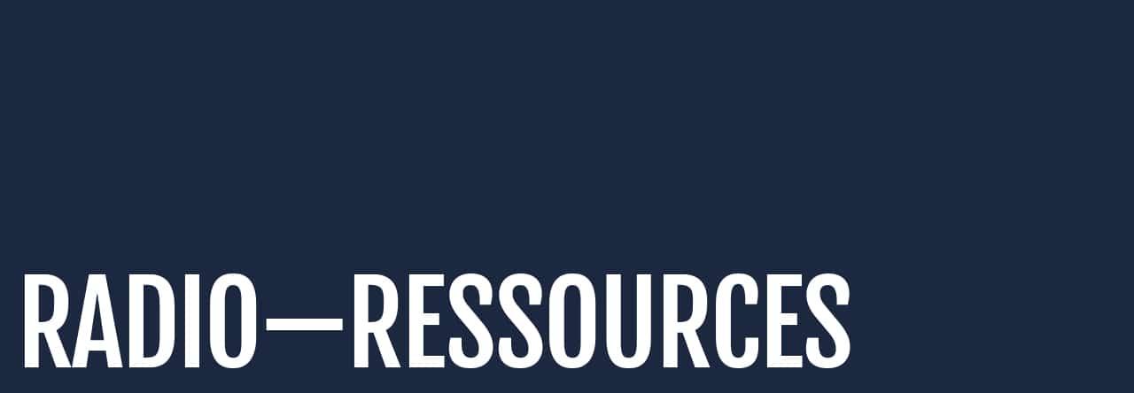 Radio-ressources
